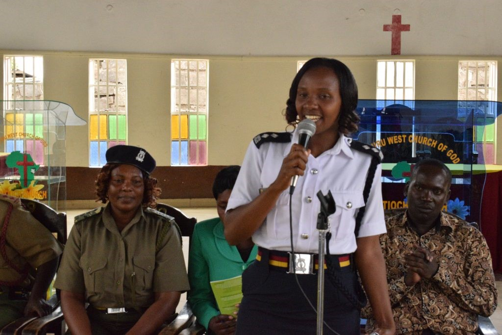 Urban Violence Prevention meeting in Nakuru Municipality