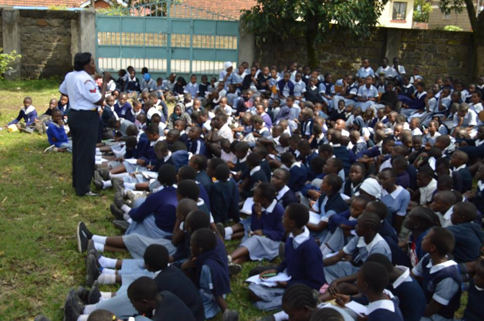 Midrift, Police Sensitise Pupils on Violence Prevention