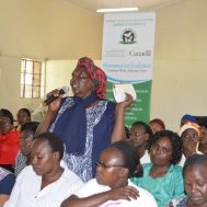 Women urged to play key role in fighting crime